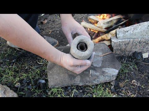 Как древние египтяне делали медные трубки.