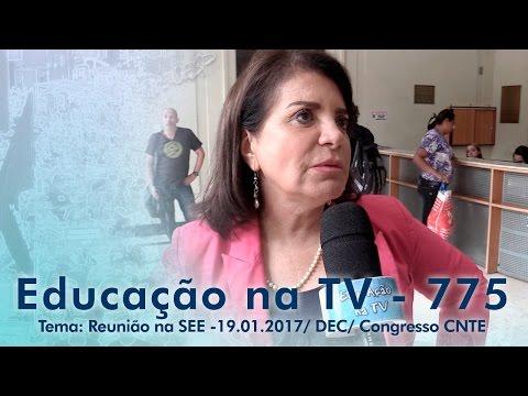 Reunião na SEE 19.01.2017 - DEC - Congresso CNTE
