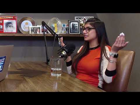 Mia Khalifa On The Forward With Lance Armstrong