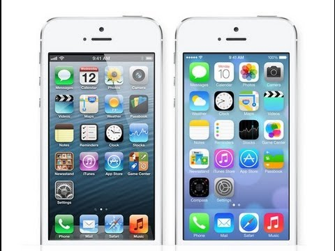 ios 6 - With the New Design of Apple's iOS 7, Many people are comparing it to iOS 6. In this video, I do a side by side comparison of the design of iOS 7 and iOS 6 b...