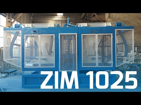 ZİM 1025 CONCRETE BLOCK AND PAVERSTONE MAKING MACHINE