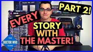 Doctor Who The Master on DVD! In this video Alex shows you 24 dvds that allow you to collect every episode with the Master in this two part video series!