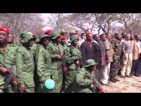 An anti-poaching demonstration day was held in Tanzania as rangers showcased the training they received from Civil Affairs soldiers from Combined Joint Task Force Horn of Africa, Camp Lemonnier, Djibouti. Includes soundbites from Twaha Twaibu, Ministry of Natural Resources and Tourism.