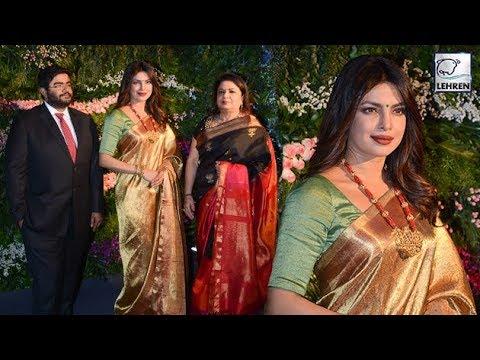 Priyanka Chopra Looks Elegant At Virushka Mumbai R