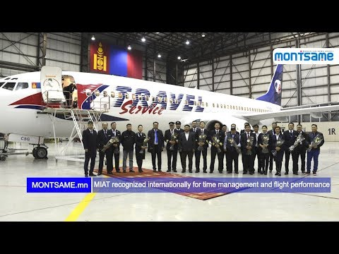 MIAT recognized internationally for time management and flight performance