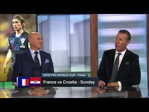 France vs Croatia  2018 World Cup final