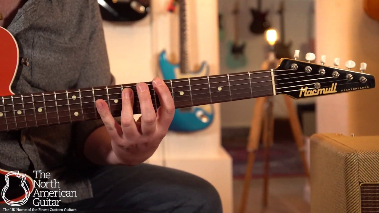 Macmull Heartbreaker Custom Electric Guitar Played By Ben Smith (Part One)