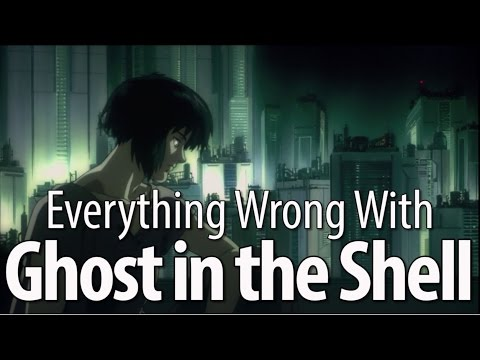 Everything Wrong With Ghost In The Shell (1995) (видео)