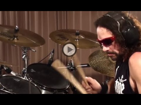 Nick Menza (Megadeth) Holy wars Drums Only
