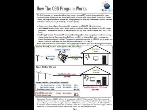 BlueSky Solar Proposal Pg 4 - CGS Explained