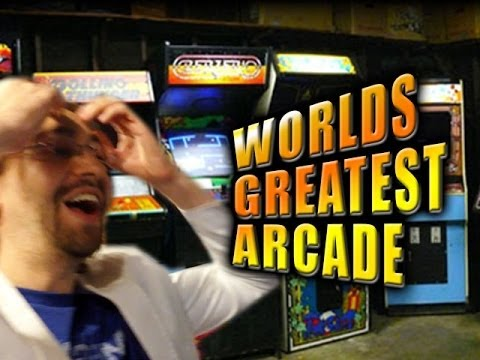 WORLD'S GREATEST ARCADE – Max's Mind Gets Blown (Galloping Ghost Arcade)