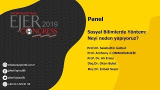 EJERCongress 2019 | Panel Topic : What do We do and Why do We do ?