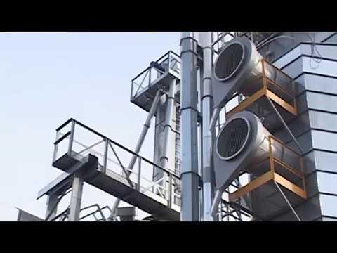 На предприятии ЗАО «Глинки» построен новый зерноочистительно-сушильный комплекс