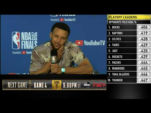 Stephen Curry Press Conference | NBA Finals Game 3