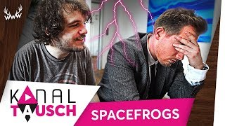 Video Kanaltausch mit den Space Frogs ESKALIERT! MP3, 3GP, MP4, WEBM, AVI, FLV Mei 2018