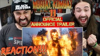 MORTAL KOMBAT 11 - Official Announce TRAILER REACTION!!! by The Reel Rejects