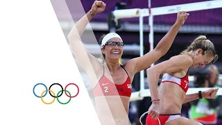 Beach Volleyball Women's Semifinals - United States v China Replay - London 2012 Olympic Games