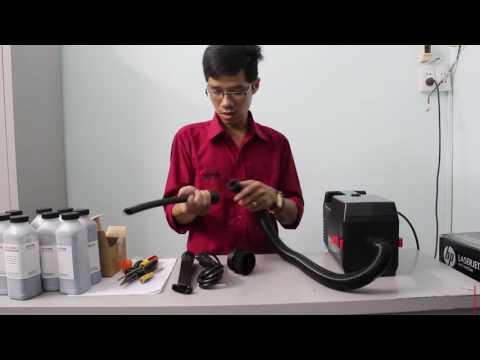 Giới thiệu máy hút mực Máy hút mực Atrix Express Service Vacuum
