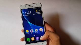 How to open assitant menu in samsung galaxy j5 2016