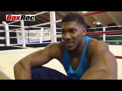Das Training mit Klitschko bringt Joshua voran