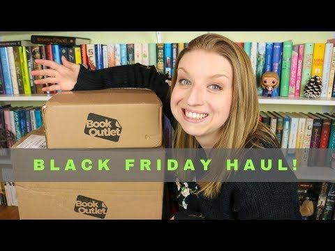Black Friday Book Outlet Haul!