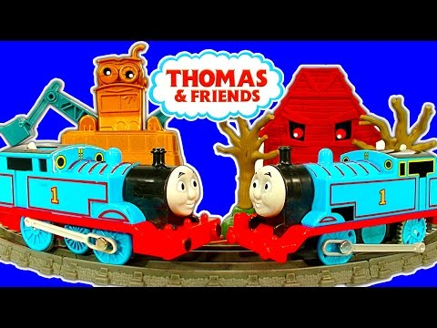 Thomas - Thomas The Tank Engine has a new 2014 Trackmaster motorized toy train system just in time for the new Thomas & Friends movie Tale Of The Brave. Not only is t...