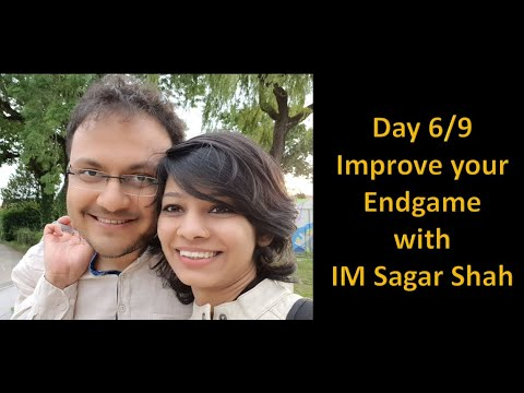 Day 6/9: Improve your endgame with IM Sagar Shah | Queen vs Rook