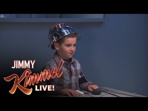 Jimmy Kimmel is torturing kids for our amusement