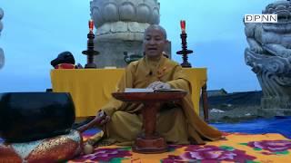TT Nhật Từ đọc Kinh tiểu sử của Đức Phật tại khu Văn hoá Tín ngưỡng Hồ Bể