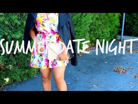 ☼ GRWM: SUMMER DATE NIGHT
