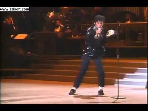 Майкл Джексон - Билли джин 1983 первая лунная походка (видео)