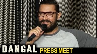 Dangal Telugu Dub Yuddam Press Meet - Aamir Khan