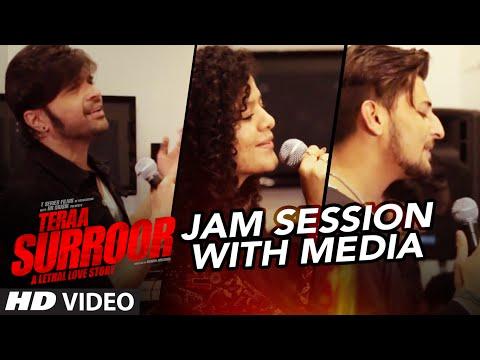 Video Teraa Surroor JAM SESSION With Media | HIMESH RESHAMMIYA, DARSHAN RAVAL & PALAK MUCHHAL | T-Series download in MP3, 3GP, MP4, WEBM, AVI, FLV January 2017