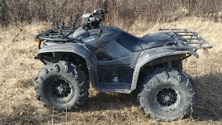 9. Yamaha KODIAK 700 1 Year Review