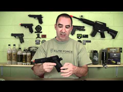 New Elite Force Guns - Another great airsoft gun from Elite Force and Umarex USA. The 1911 A1 C02 pistol is a hard shooting well built gas blowback. What makes it even better is th...