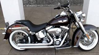 6. Harley Softail deluxe, Vance & Hines exhaust hear it run, For sale