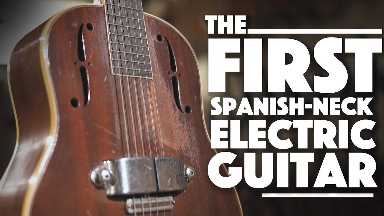 The First Spanish-Neck Electric at Carter Vintage Guitars