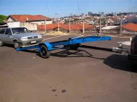 carreta carro arrancada