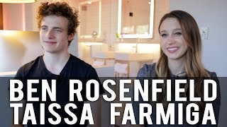 Ben Rosenfield   Taissa Farmiga On Acting And  6 Years