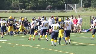Week 3 - Bantam Warriors 7 vs Wolverines 54