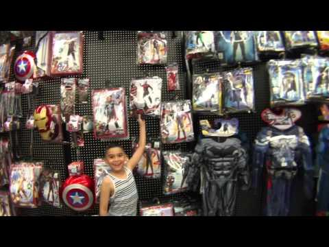 Visiting The Spirit Halloween Store