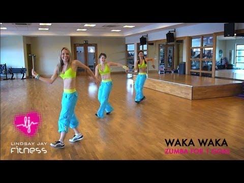 la zumba con shakira - waka waka
