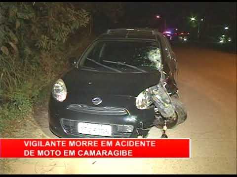 [RONDA GERAL] Vigilante morre em acidente de moto em Camaragibe