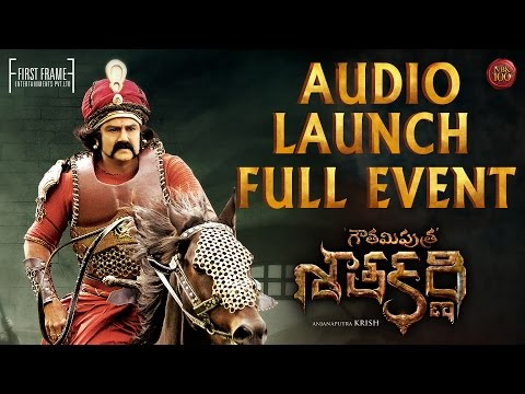 Gautamiputra Satakarni Audio Launch LIVE 🔴 - Nandamuri Balakrishna - #NBK100 || A film by Krish