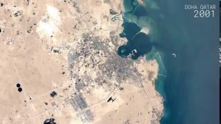 Doha Qatar  city photos : Google Timelapse: Doha, Qatar