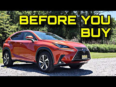 The Lexus NX 300 Is A Solid Compact Luxury SUV With One Annoying Feature
