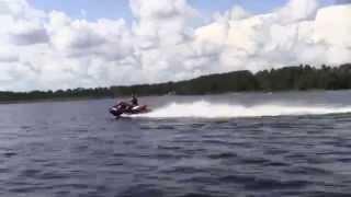 6. Eddie Vegas Sea Doo 2010 RXT X  260 HP 70 mph Fast!