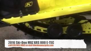10. 2016 Ski-Doo MXZ XRS 800 E-TEC