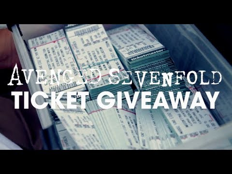 Avenged Sevenfold - Free Ticket Giveaway