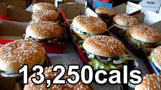 Video Eating 25 Big Macs in One Sitting (World Record) MP3, 3GP, MP4, WEBM, AVI, FLV November 2017